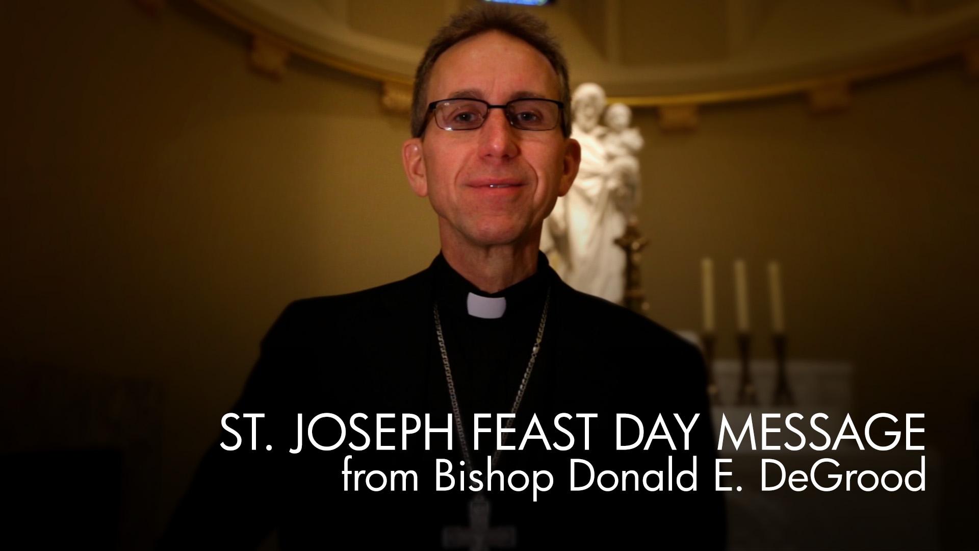 Greetings on this Feast of Saint Joseph