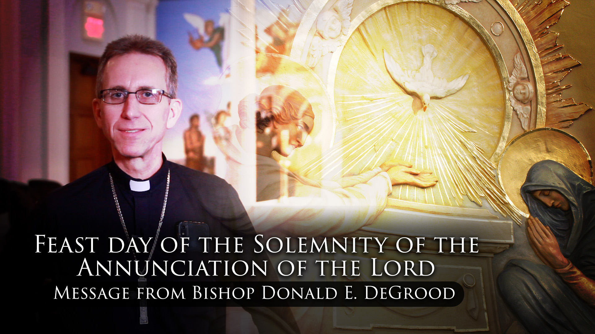 Feast day of the Solemnity of the Annunciation of the Lord