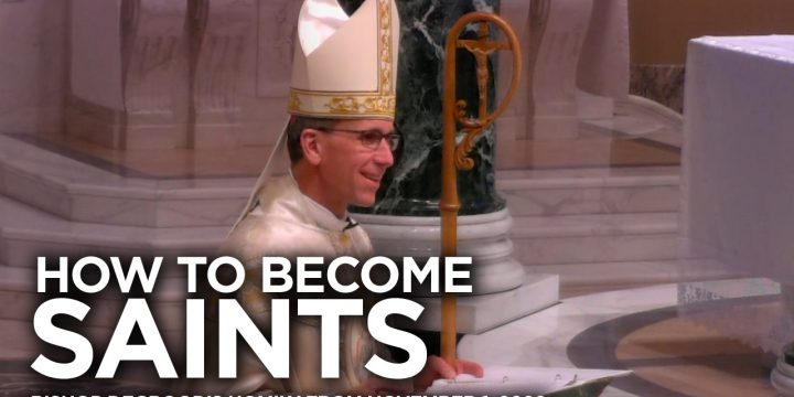 Bishop DeGrood's Homily – November 1, 2020 – How to Become Saints