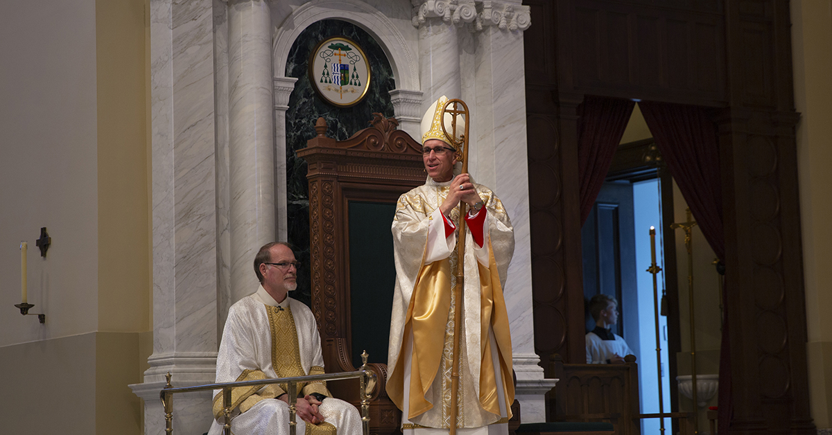 Welcome Bishop Donald E. DeGrood