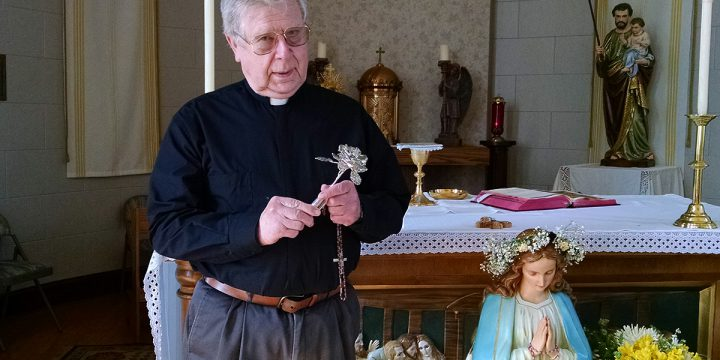 Fifty years of priesthood span three countries