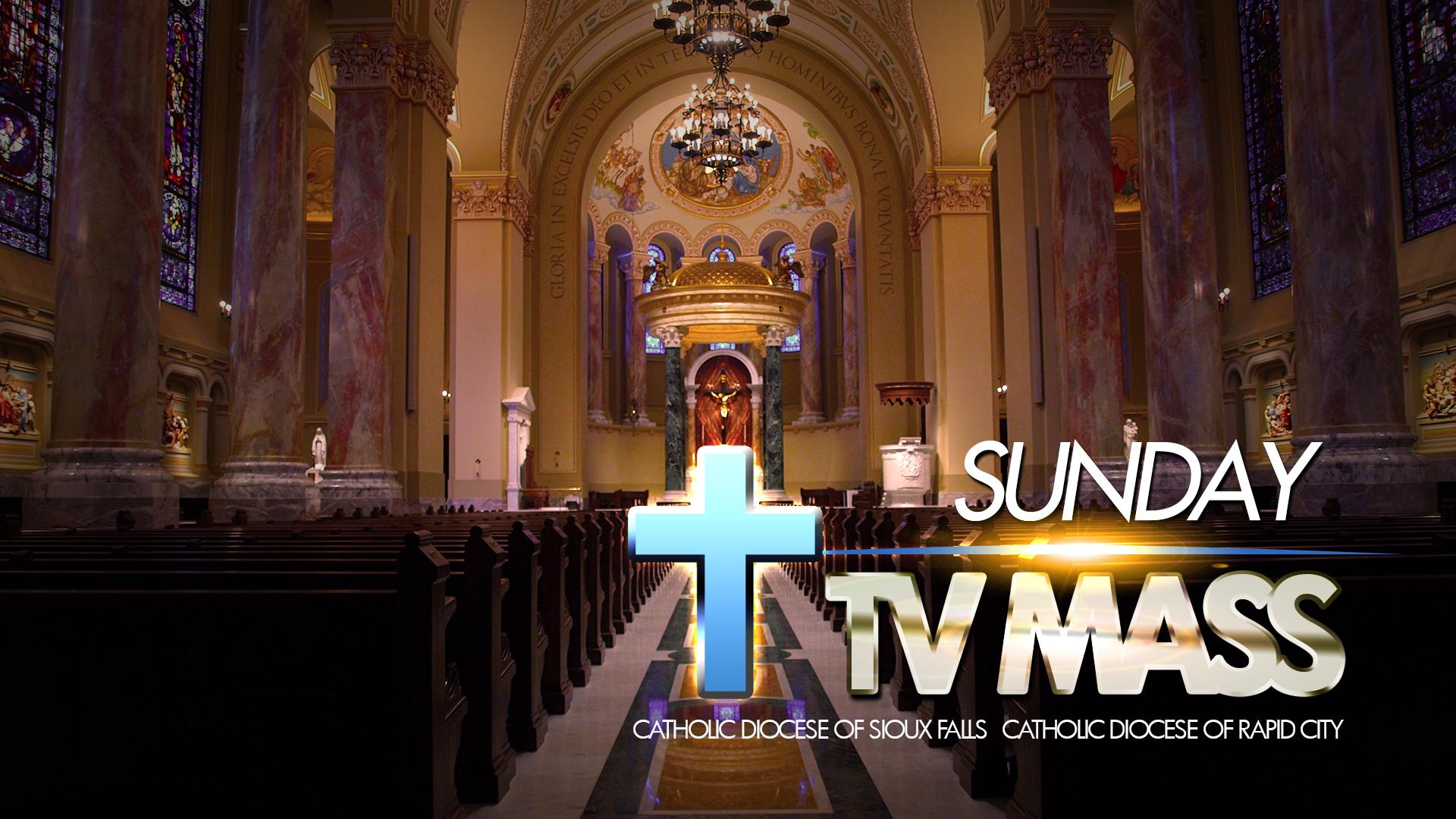 Sunday TV Mass – April 25, 2021